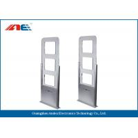 EAS / AFI Alarm Attached RFID Gate Reader For Library Entrance System Aisle Width 90CM Manufactures