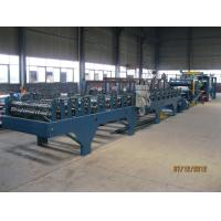 Insulation Sandwich Panel Roll Forming Machine 28KW 3-7m/min Manufactures