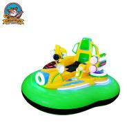 Inflatable Amusement Park Bumper Cars With Remote Control / Manual Operation Manufactures