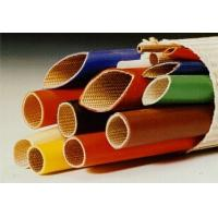 Silicone Rubber Coated Fiberglass Sleeving -10ºC  +200ºC Continuous Operating Temperature Manufactures