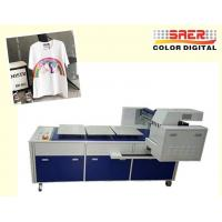 High Speed T Shirt Printing Machine / Digital Flatbed Printer With 8 Ricoh Heads Manufactures