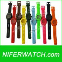 Quality PVC Nixon Quartz Promotion Watch for sale