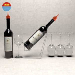 Cool custom vacuum preservation kit funnel silicone cork sealing oil liquor pourer for wine bottles stopper plug Manufactures