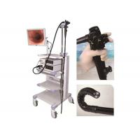 1630mm Video Colonoscopy Endoscopy , LED Cold Light Medical Endoscope With Monitor Manufactures
