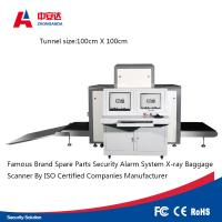 Tunnel X Ray Inspection Machine , Airport Security Baggage Scanner Equipment Manufactures