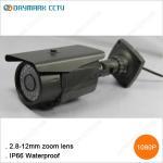 Infrared bullet 1080p 30fps 2 megapixel ip camera Manufactures