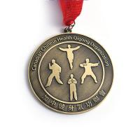 Quality Creative Sculpture Fitness Metal Award Medals For Kids Customization for sale