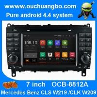 Ouchuangbo Mercedes Benz w209 w219 audio DVD gps stereo android 4.4 supoort cabus MP3 Manufactures