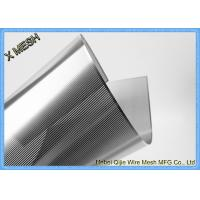 China Etched Plates Punched Perforated Metal Mesh Round Hole With 2mm Thickness on sale