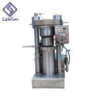 Cooking Oil Hydraulic Oil Press Machine Simple Operation For Oil Plant Manufactures