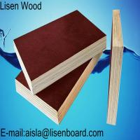 18mm black Film Faced Plywood / WBP phenolic concrete formwork plywood / Marine plywood construction boards price Manufactures