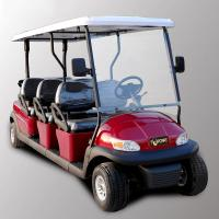 Park 6 Seater Golf Cart Electric Sightseeing Car With 3.7kw KDS Motor Manufactures