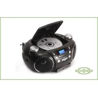 Remote Control Portable DVD Radio Player , DVD Boombox Player With Stereo Speaker Manufactures
