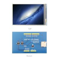 350cd/m² Brightness LCD Driver Board 4.0 Inch 320x480 With Resistive Touch Screen Manufactures
