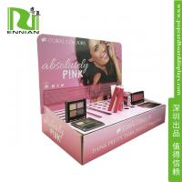 Buy cheap Make-up POP Cardboard Displays Counter / Paper material Retail Display Racks from wholesalers
