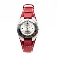 China Unique design water resistent rotatable bezel slim soft Leather Strap japan movement personality fashion Watches on sale