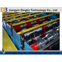 China 25m / Min Speed Floor Deck Roll Former Metal Forming Machine With PLC Contol on sale