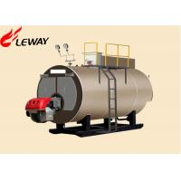 Original Italy Burner Oil Fired Hot Water Boiler , Oil Fired Heating Boilers Large Heating Surface Manufactures