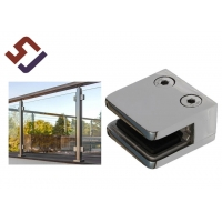 China 316 Stainless Steel 0.2KG 8mm Square Glass Clamp on sale