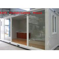 Combined Custom Container House , Lightweight Single Container House With Bedroom Manufactures