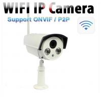 1.0 Megapixel ONVIF Outdoor Wireless IP Camera For Home , 360 Degree Analog Manufactures