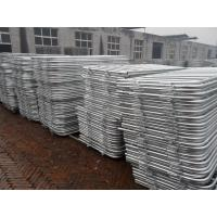 customized metal crowd control barrier, portable barricades, pedestrian barriers Manufactures
