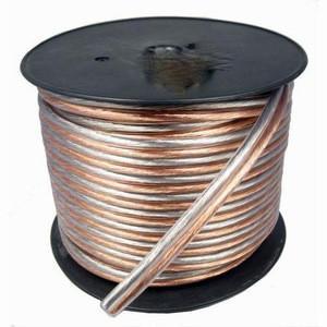 HIFI Car Audio  Transparent Speaker Cable Oxygen Free 18 Gauge Car Speaker Wire Manufactures