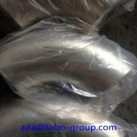 Quality WP304H Stainless Steel Butt Weld Fittings Long Radius 90 Degree Elbow DN15 - DN1200 for sale
