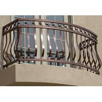 wrought iron balcony railing designs / aluminum rail for balcony / forged iron balcony railings designs Manufactures
