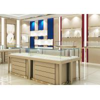 High End Wood Gold Shop Furniture Jewelry Showroom Interior Design Manufactures