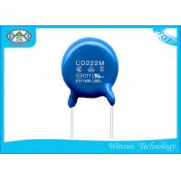 Round Chip Multilayer Ceramic Capacitor X1Y1 Capacitor With Epoxy Resin Manufactures
