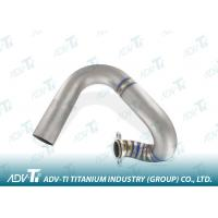Quality Grade 1 Welding Titanium Pipe 1.2mm Stainless Steel Auto Exhaust for sale