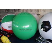 Customized Fireproof Personalised Helium Balloon PVC White For Advertising Manufactures