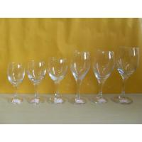 brand, whiskey, champange Drinking Logo Printing glassware, clear Blown Goblet Wine Glass Manufactures