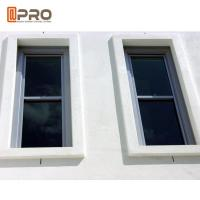 Customized Size Tilt Sliding Aluminium Sash Windows Powder Coated Surface Treatment Manufactures