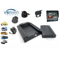 China 4G Mobile AHD Recorder 1080P / 720P Car DVR Black Box GPS with 4CH Camera on sale