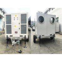 Large Trailer Mounted Mobile Ducted Tent Air Conditioner 165600BTU CE SASO ISO Manufactures