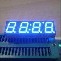"Ultra Blue Common Anode 0.39"" 4 Digit Seven Segment Display For Digital TV STB Manufactures"