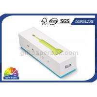 Electric Toothbrush Rigid Paper Gift Boxes Customized With EVA Foam Insert Manufactures