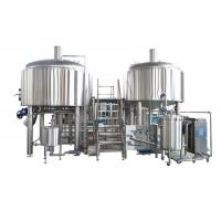 1500L Stainless Steel Large Brewing Equipment Semi - Automatic In Beer Production Manufactures