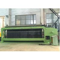 Double Rack Drive Gabion Machine , Hexagonal Mesh Machine 4300mm Width Manufactures
