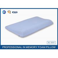 Contoured Memory Foam Baby Pillow With Cotton Cover , Curved Memory Foam Pillow Manufactures