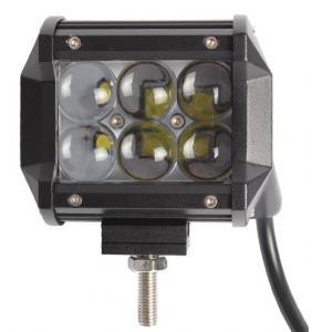 IP67 4 Inch 4D Flood Beam Mini 18w Led Light Bar / Led Work Lights For Trucks Manufactures