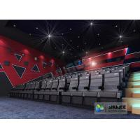 Customize 4D Cinema System Pneumatic / Hydraulic / Electric Motion Chairs With Movement Manufactures
