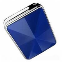 Blue Diamond Mini GPS Tracker / Smallest Gps Tracking Device Fasion To Be As Decoration Manufactures
