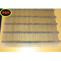 Smooth Surface Architectural Wire Mesh  0.5mm - 2.5mm Wire Diameter Manufactures