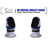 Shopping Mall Electric System Amusement 9D VR Egg Cinema Manufactures