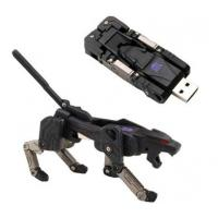 China Individualized  Transfiguration Robot dog shape  8g 16g 32g  Customized USB Flash Drive   on sale