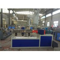China PE Plastic Pipe Extrusion Machine , PE Water Pipe Production Line on sale