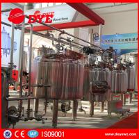 CE Approved Commercial Beer Brewing Equipment Electric / Steam / Directing Hearting Manufactures